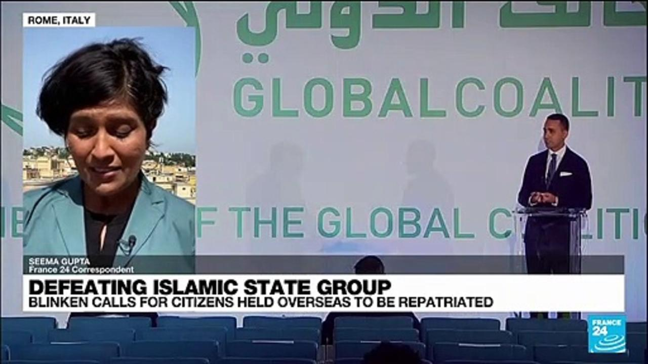 US Blinken presses allies to repatriate Islamic State fighters
