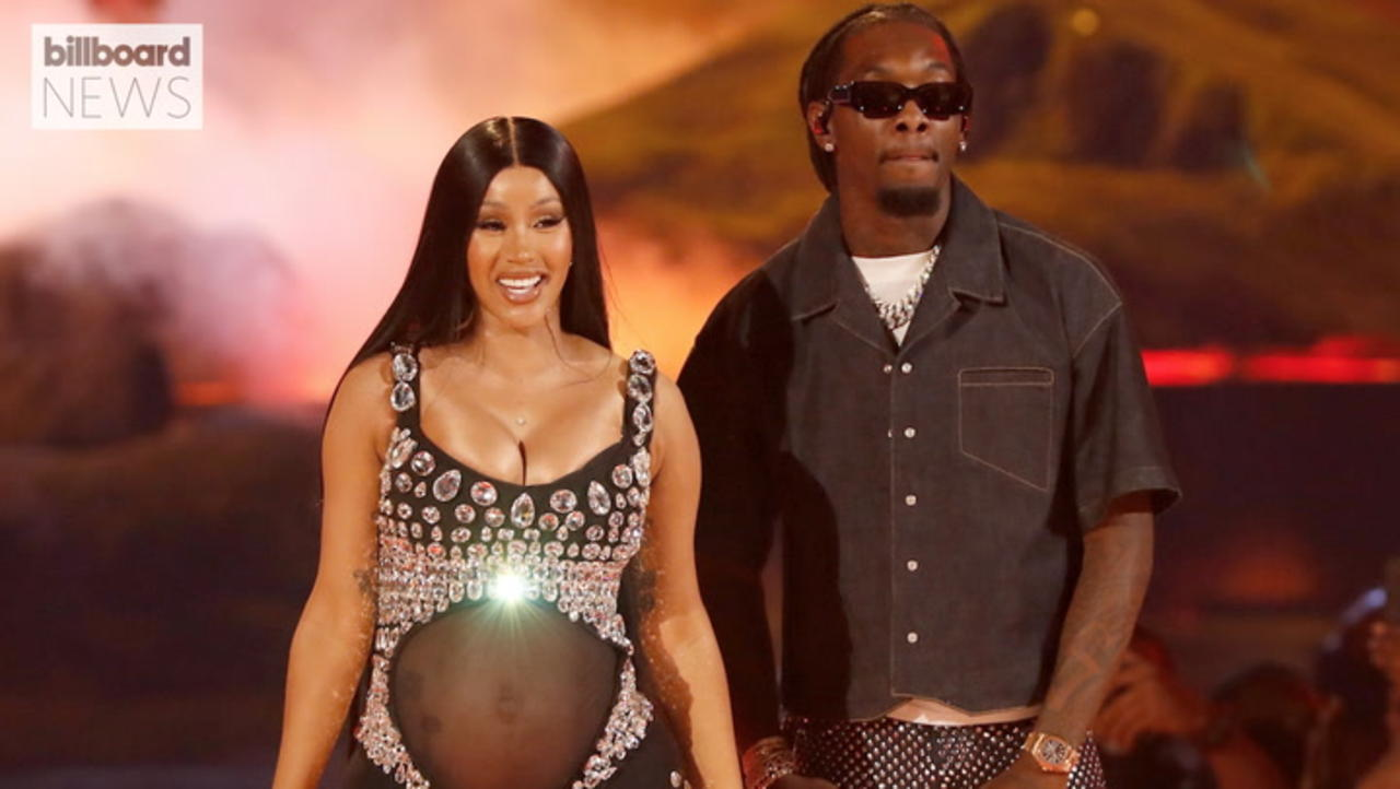 Cardi B is Pregnant! Rapper Reveals Baby No. 2 at 2021 BET Awards   Billboard News