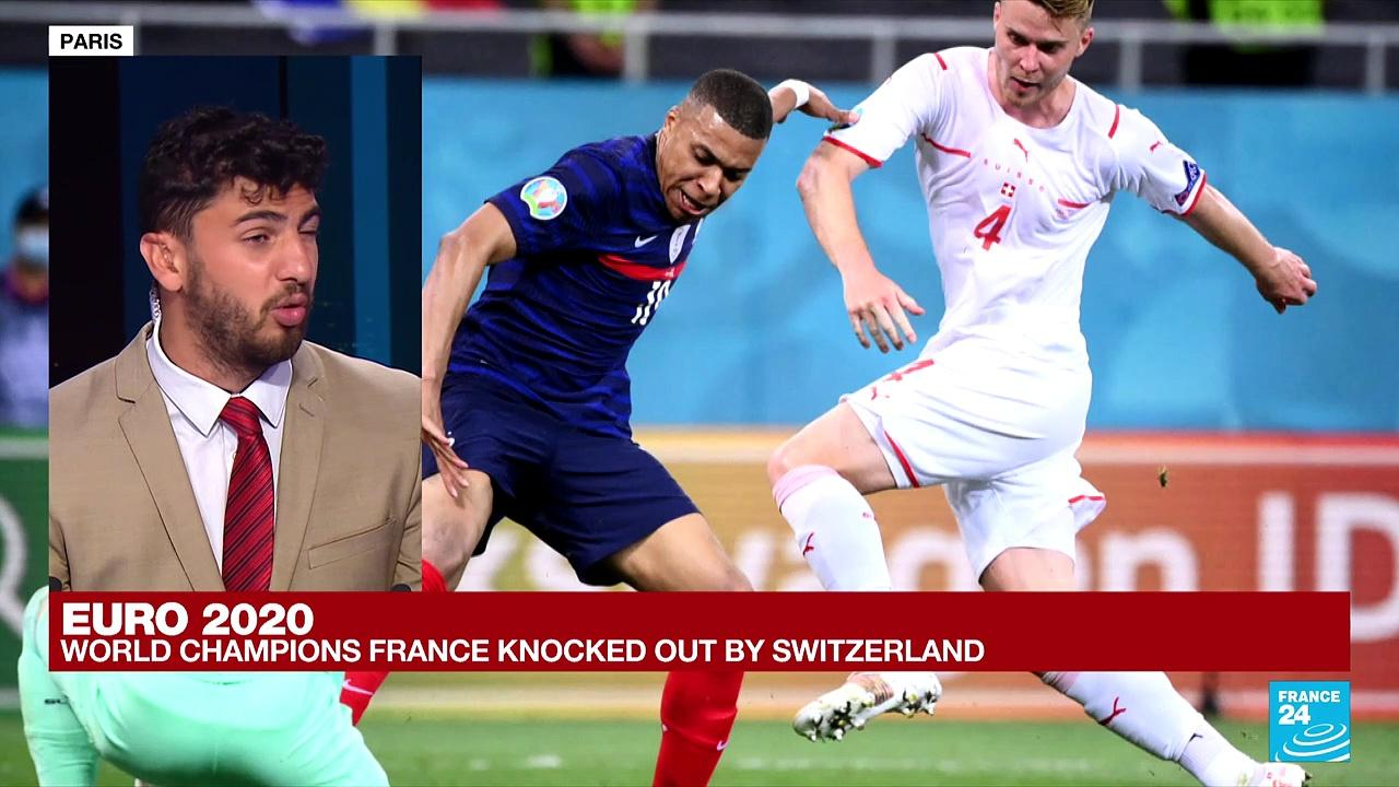 Euro 2021: Switzerland beat world champions France on penalties to reach quarters