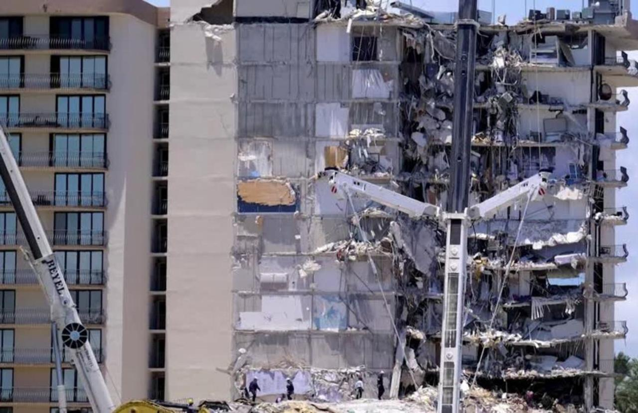 Death toll in Miami collapse holds steady at nine