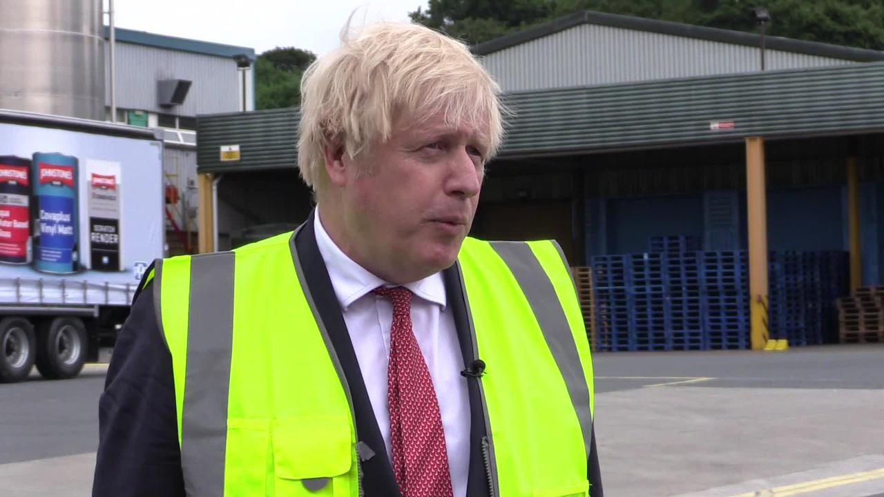Johnson insists Government moved at 'right pace' in response to Hancock row