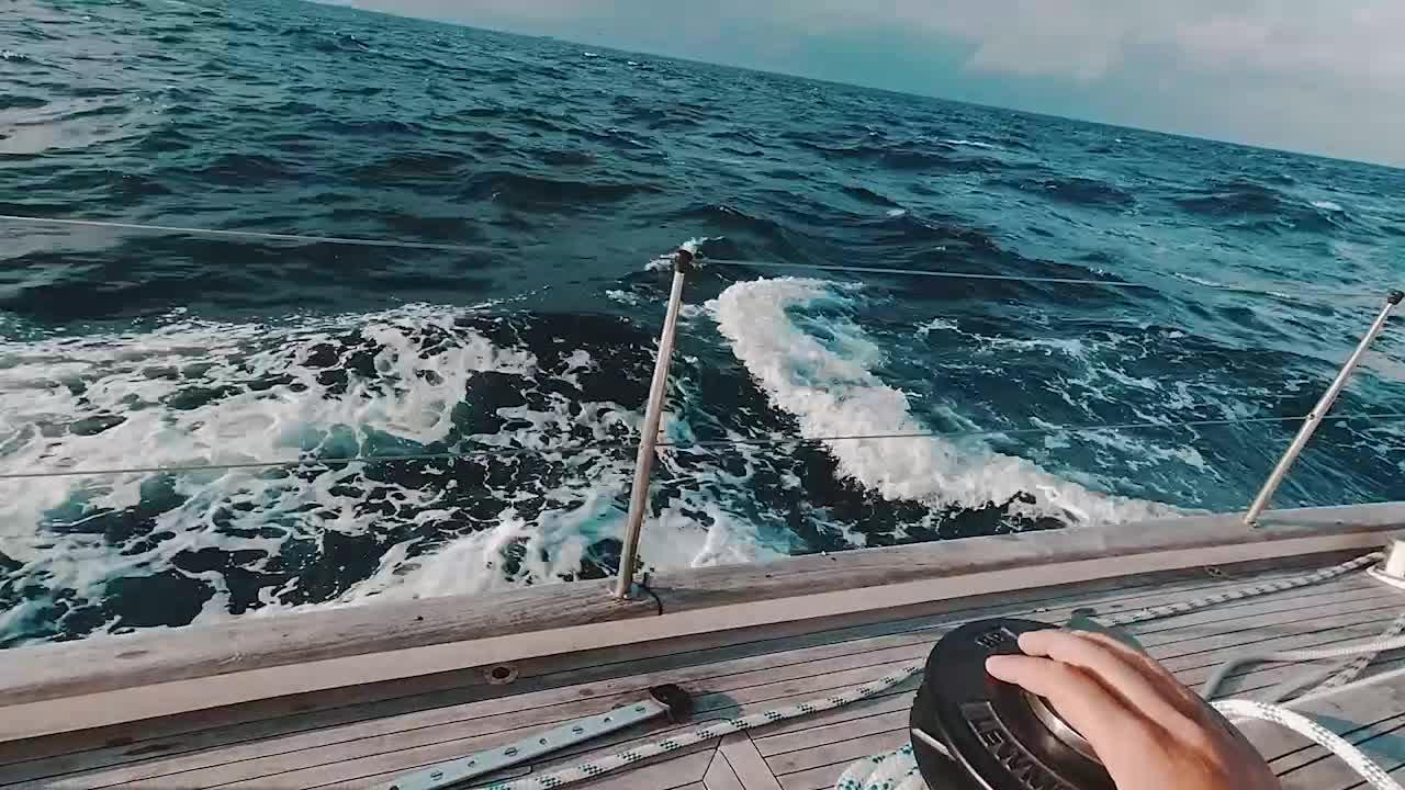 Terrifying moment British crew are attacked by a pod of 30 killer whales