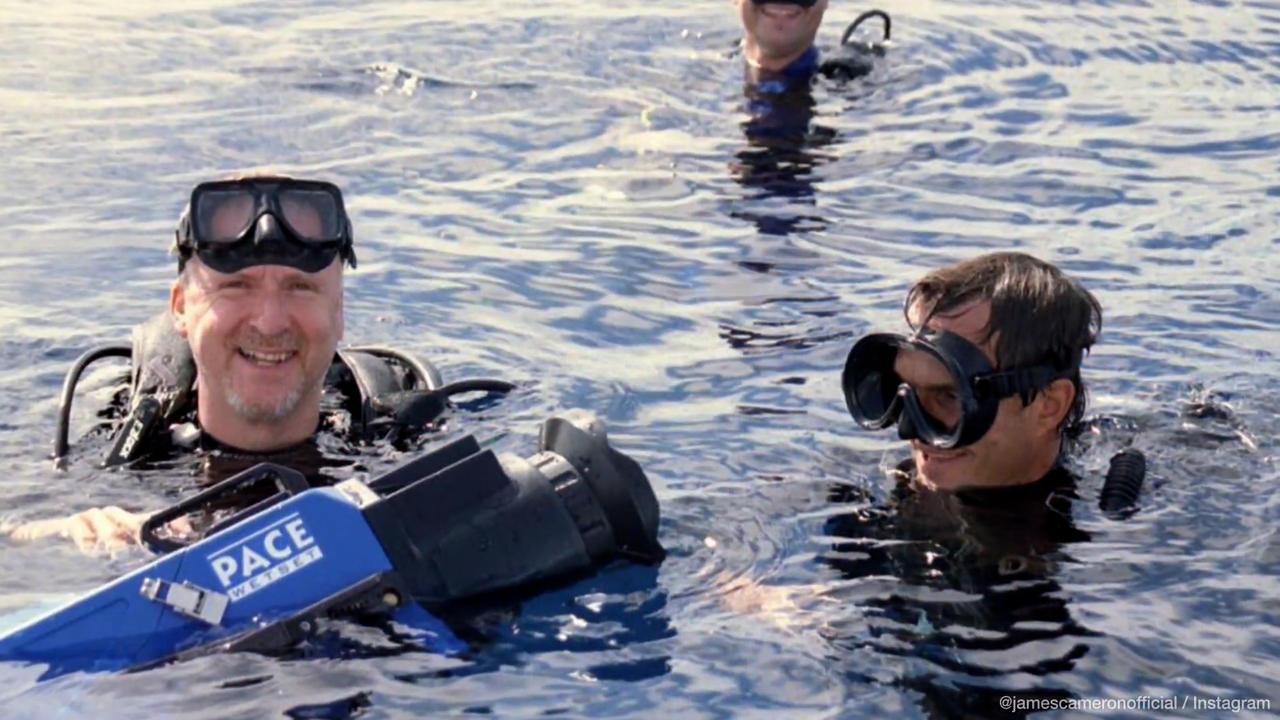 James Cameron regrette son comportement sur les tournages