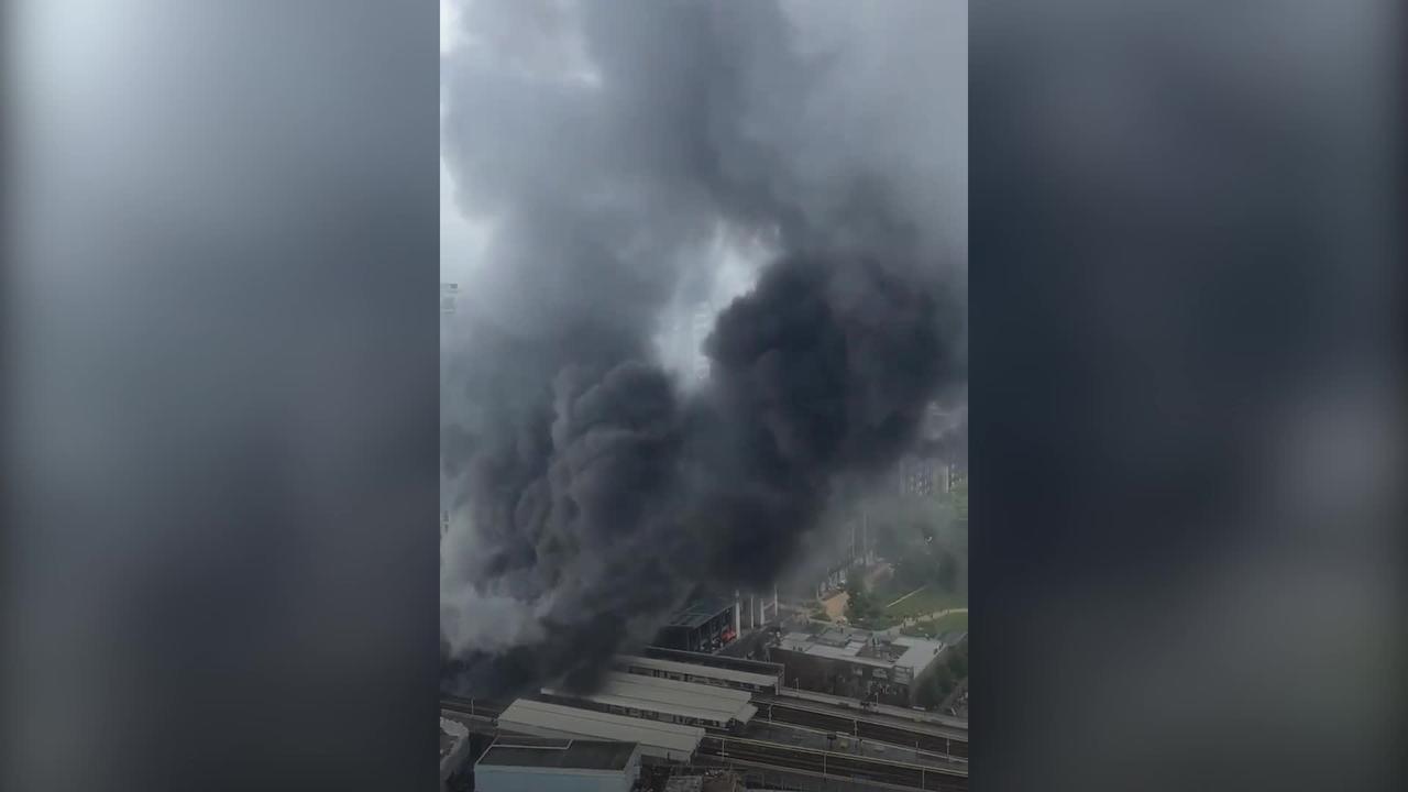 Major blaze breaks out in Elephant and Castle