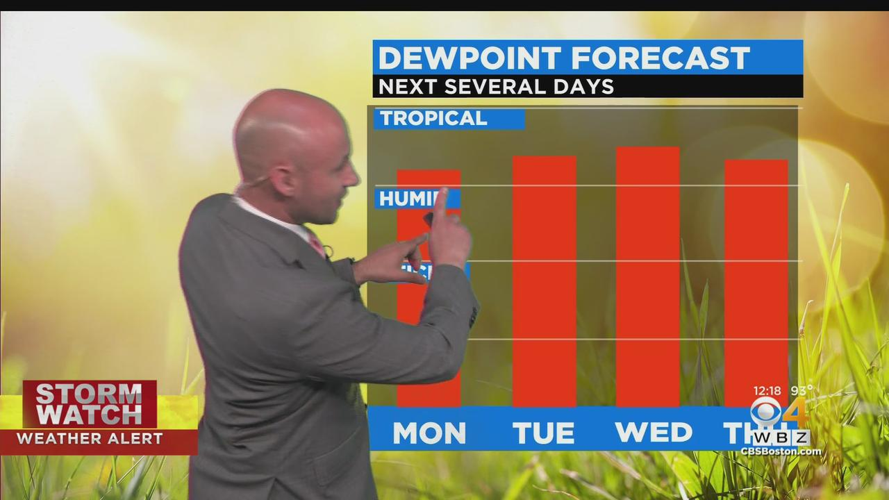 WBZ Midday Forecast For June 28