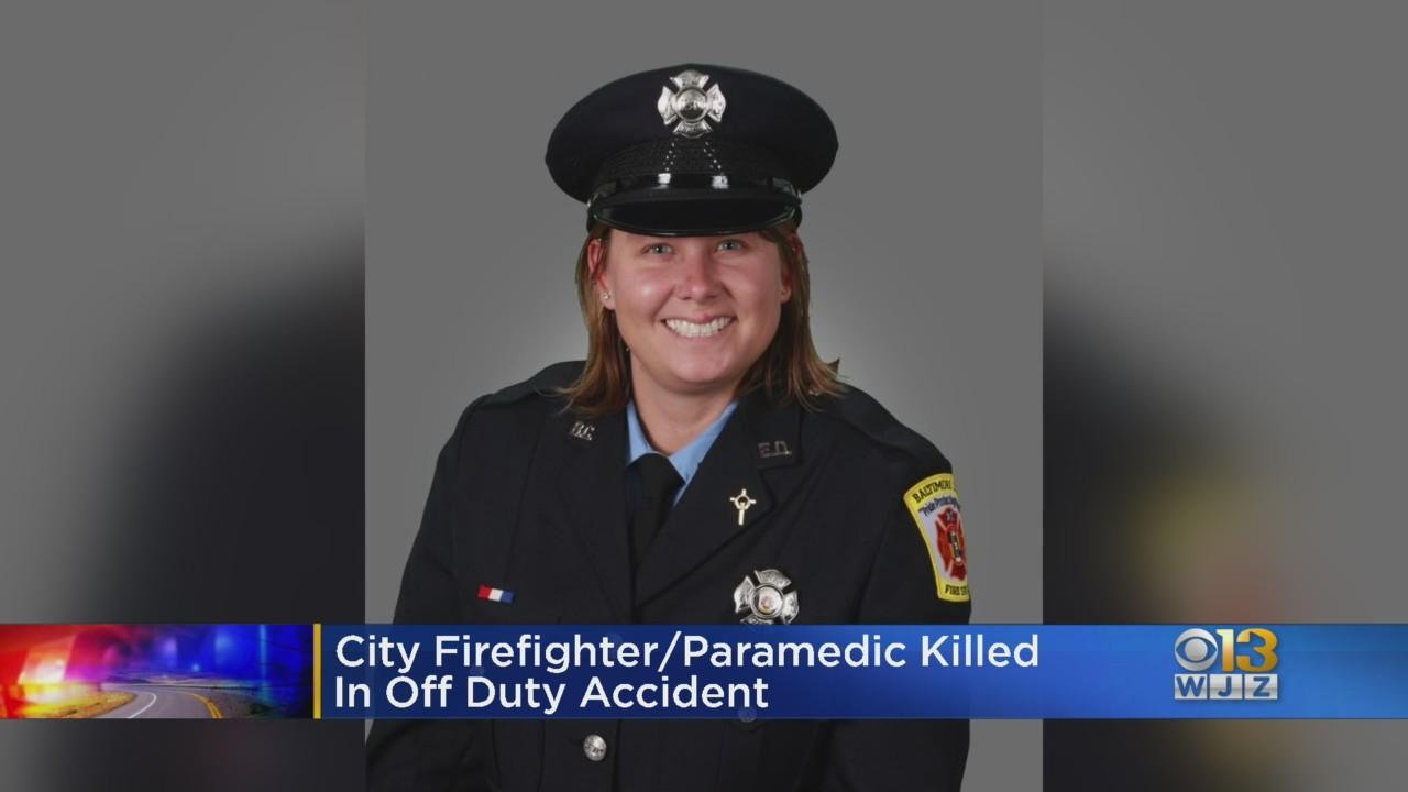 Baltimore Firefighters Mourning Loss Of Fellow Firefighter Lori Underwood