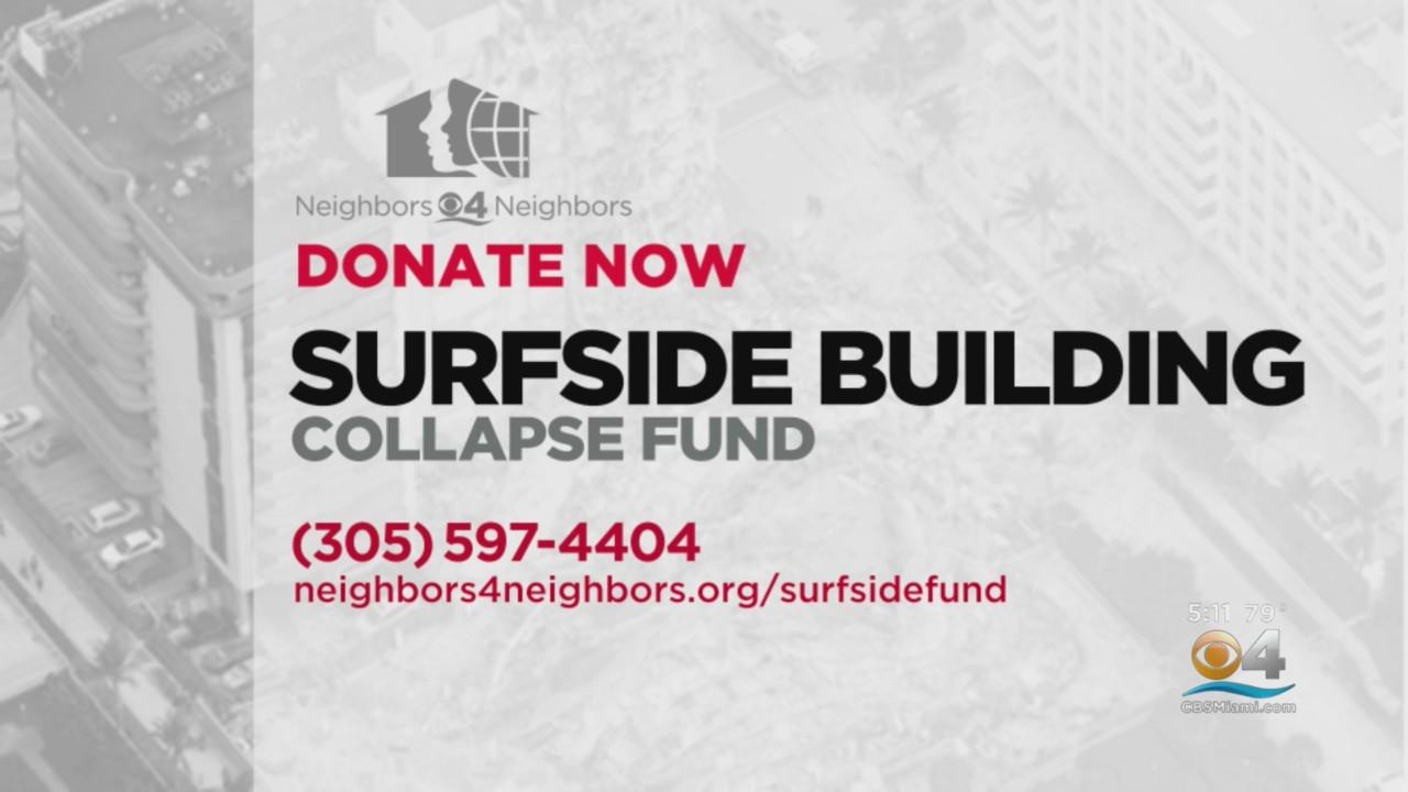 Neighbors 4 Neighbors' Surfside Building Collapse Victim Fund Helping Those In Need