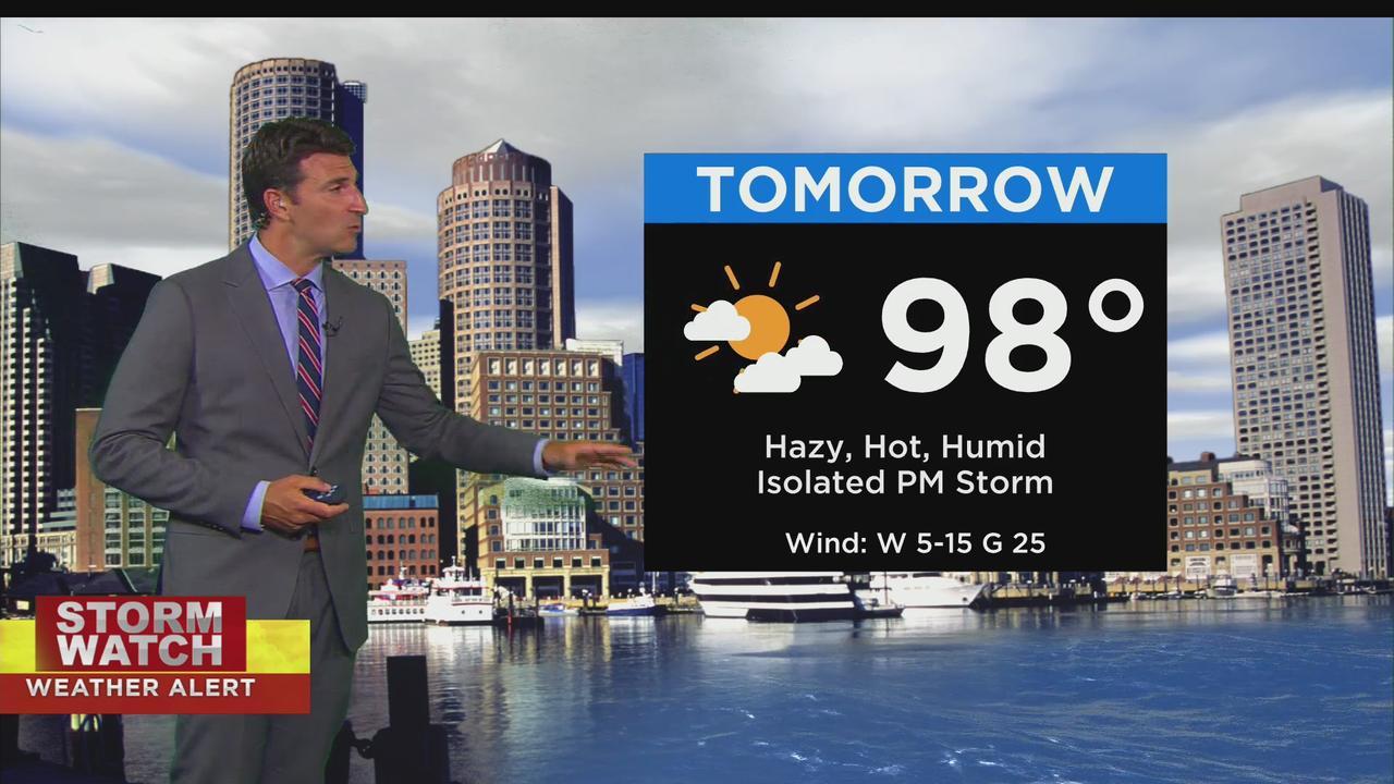 WBZ Evening Forecast For June 28