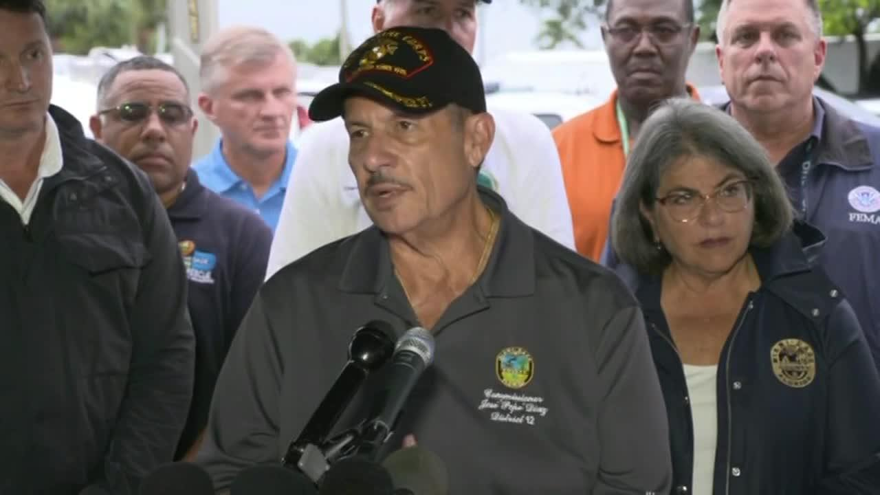 11 dead, 150 unaccounted for in Surfside condo collapse (Monday evening press conference)