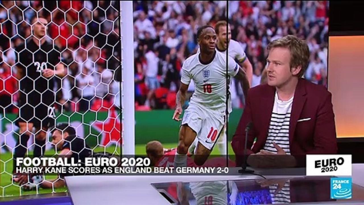 Euro 2021: Harry Kane scores as England beat Germany 2-0
