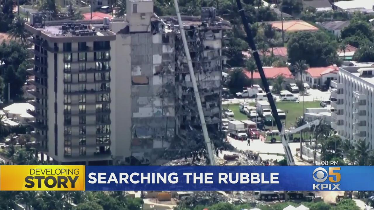 10 Dead, 150 Remain Missing After Florida Building Collapse