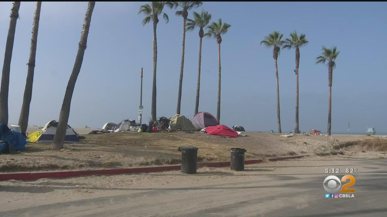 New Plan To Clear Out Venice Homeless Encampments Includes Pathway To Permanent Housing