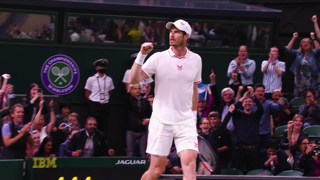 Andy Murray marks Wimbledon return with dramatic late-night victory