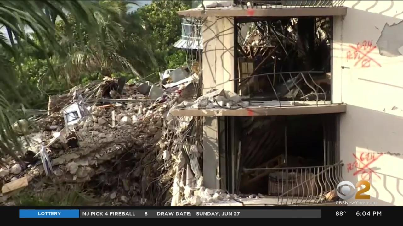 Rescuers Vow To Keep Searching For Survivors Of Surfside Collapse