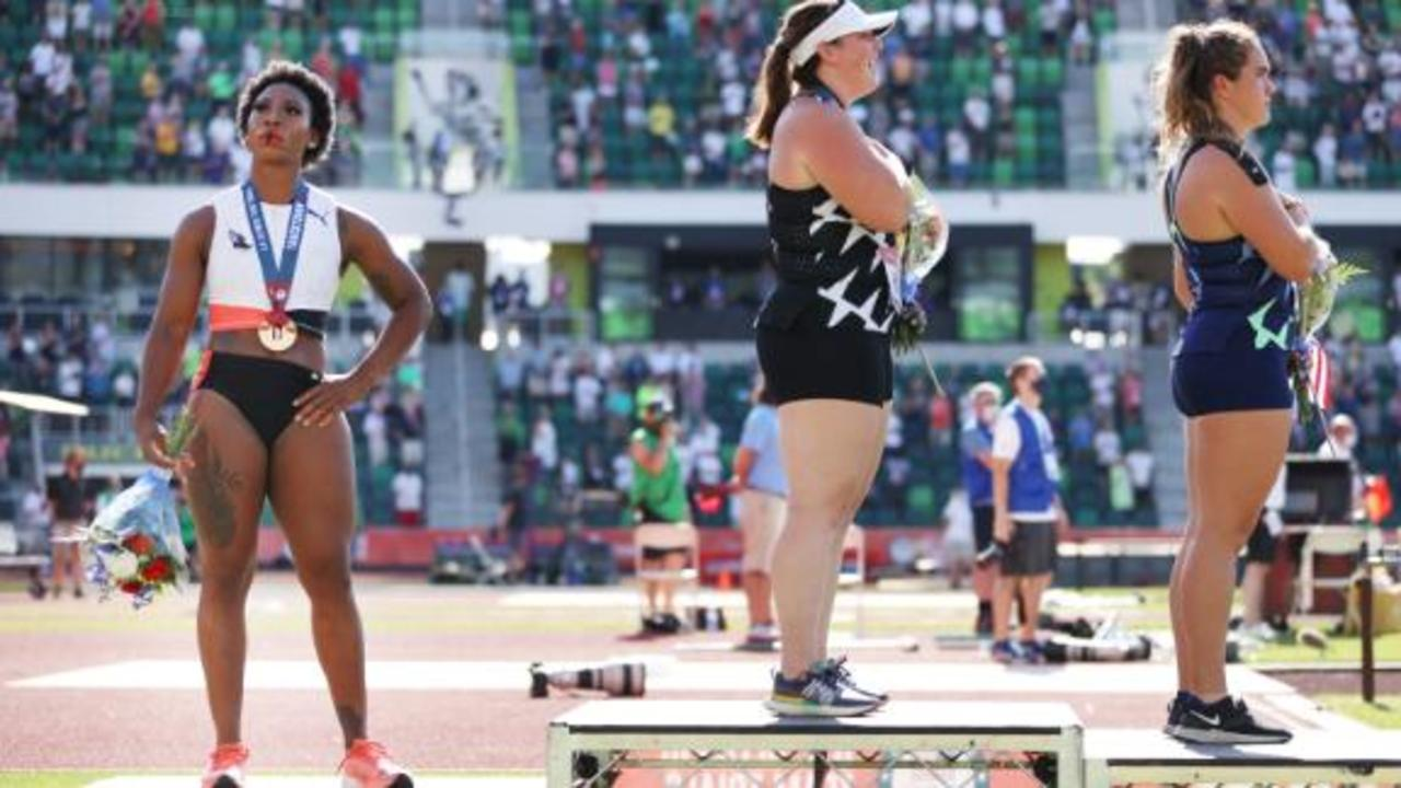 Gwen Berry: 'I never said that I hated the country,' says US hammer thrower