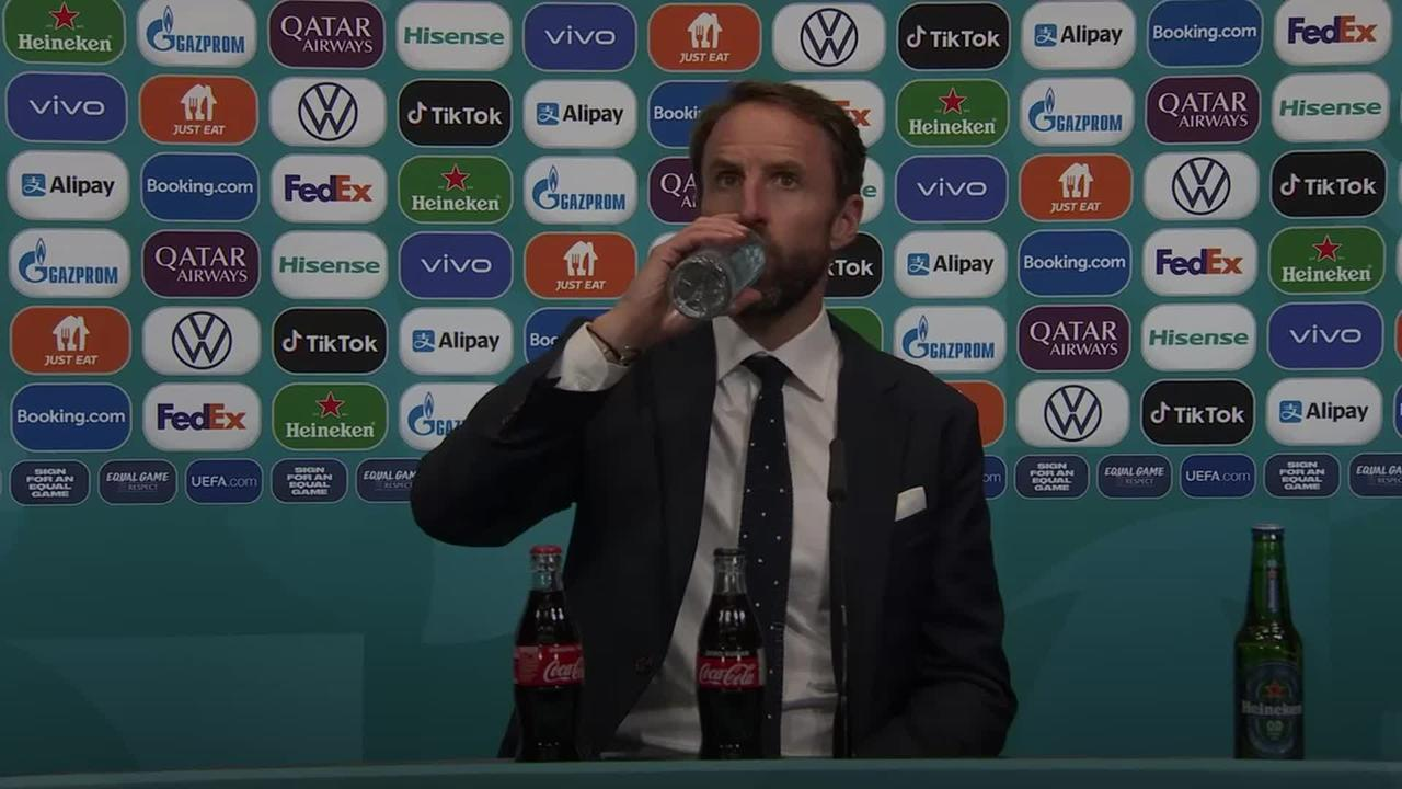 Gareth Southgate pays tribute to England's 'immense' players