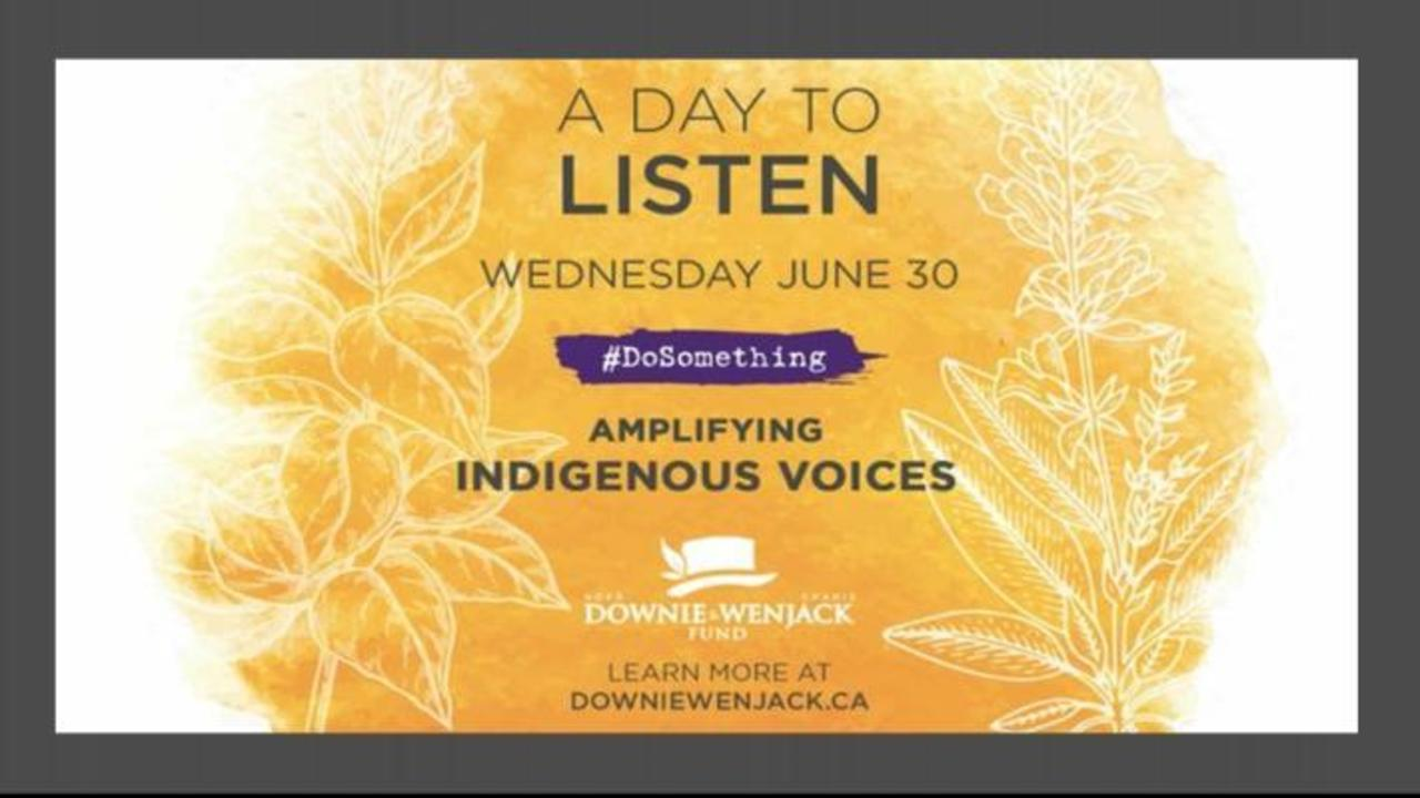 Gord Downie Fund's 'A Day To Listen' Celebrates Indigenous Voices On 400 Radio Stations Across Canada