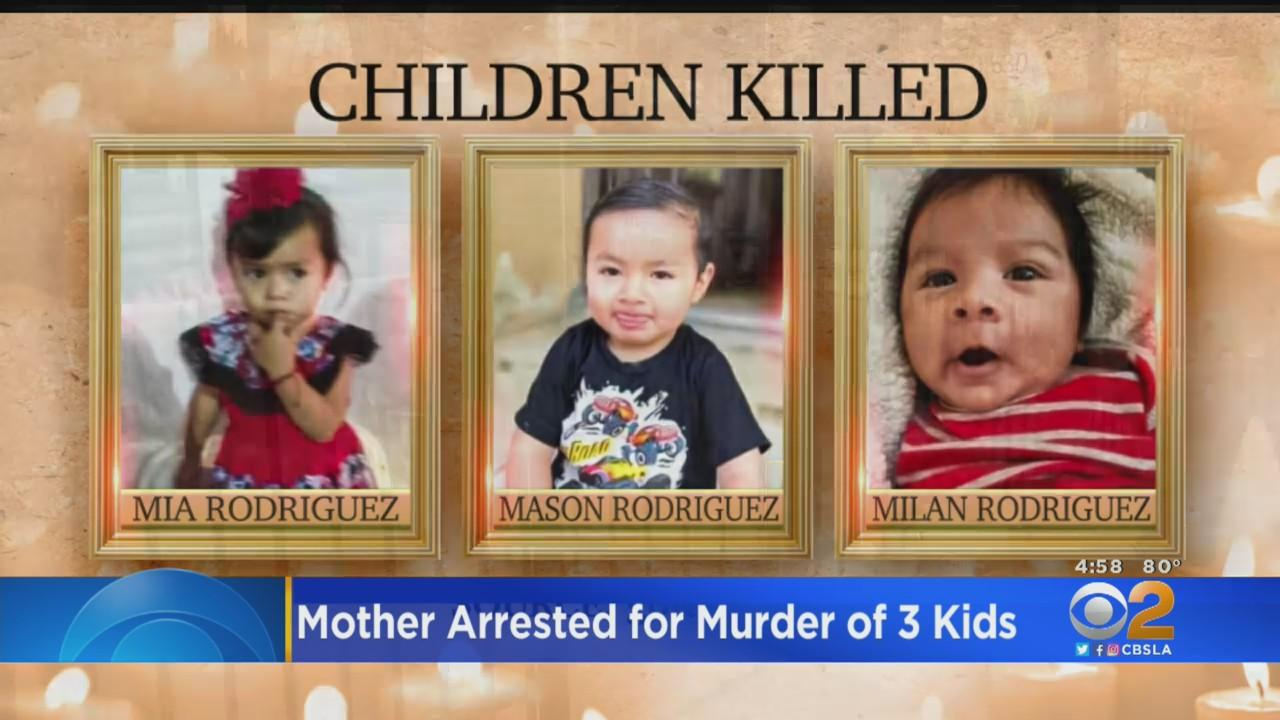 East LA Mother Sandra Chico Arrested For Murder In Deaths Of 3 Young Children