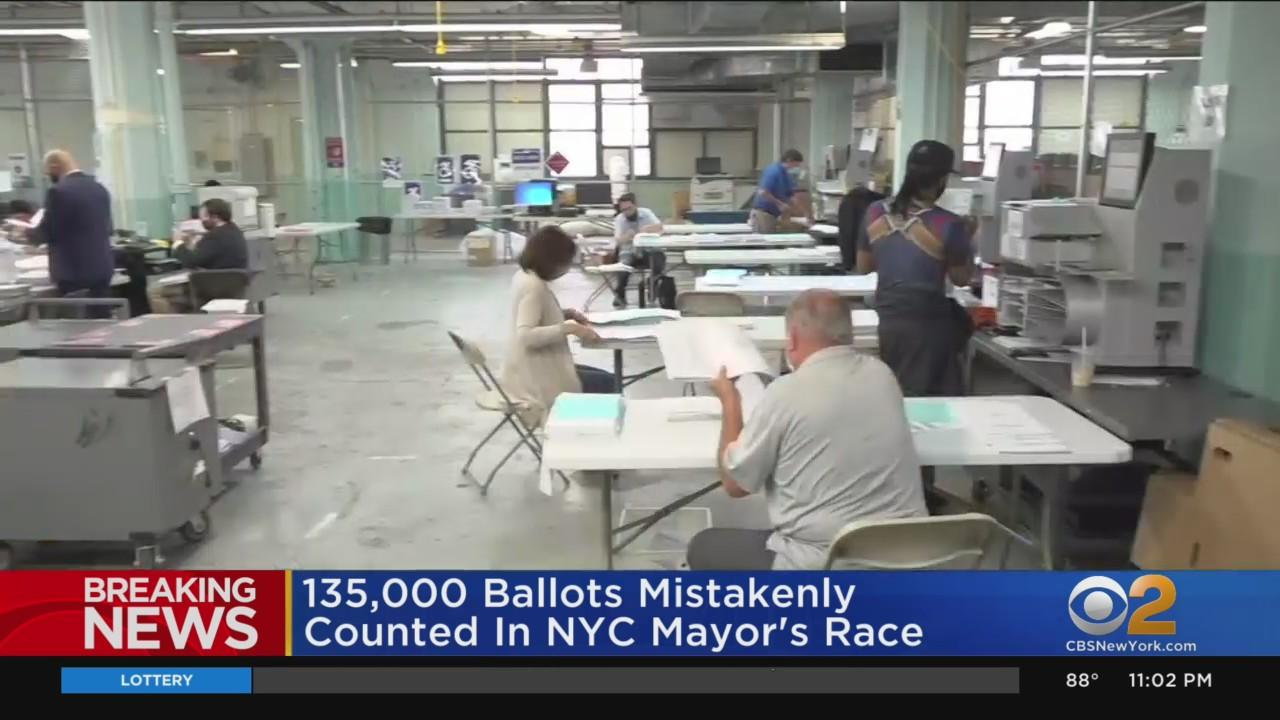 135,000 Test Ballots Mistakenly Counted In NYC Mayor's Race