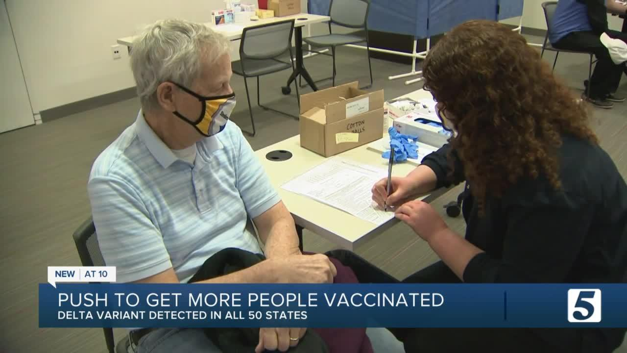 Dr. Hildreth encourages vaccinations as COVID Delta variant continues to spread