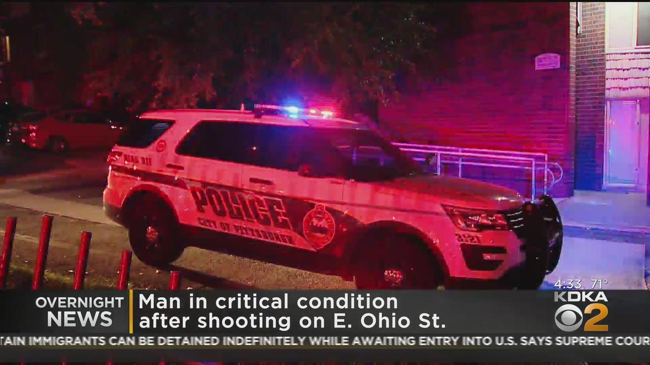 Man Arrives At Hospital With Gunshot Wound