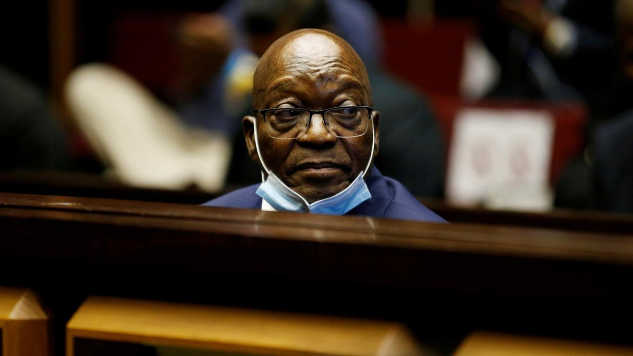 South Africa's Zuma handed 15-month jail term for inquiry no-show