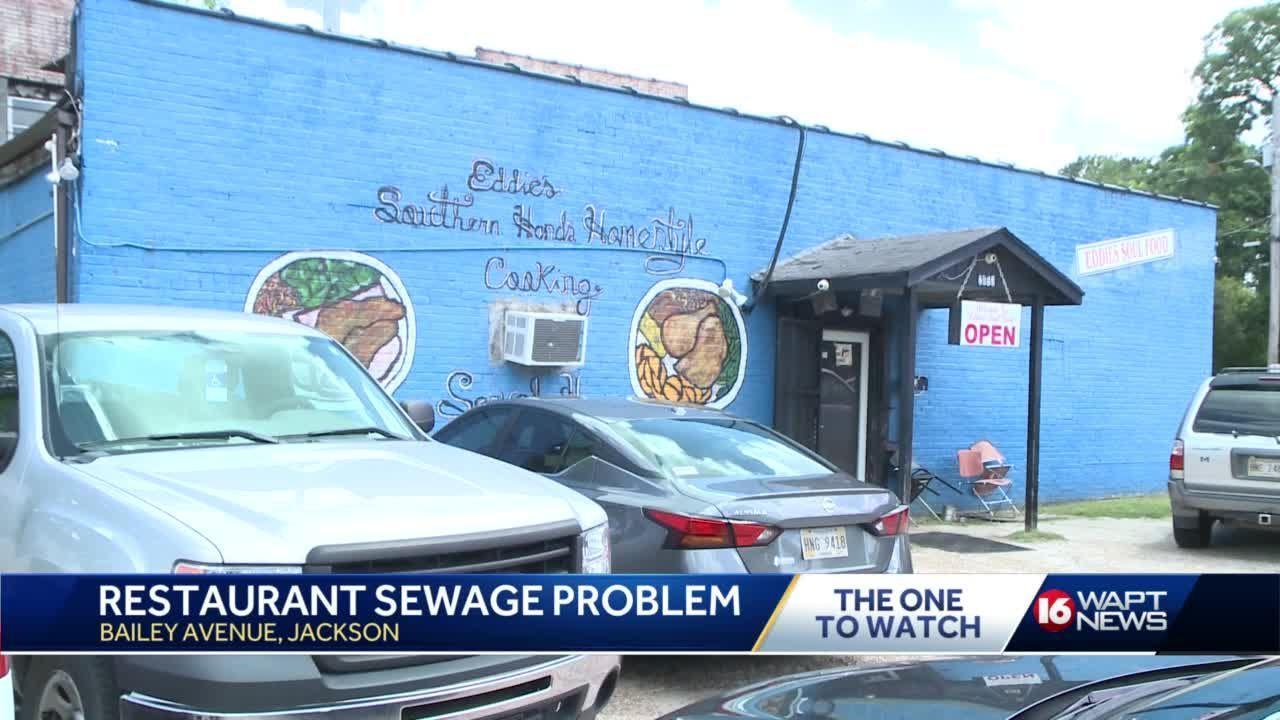 Jackson restaurant fed up with sewage problem
