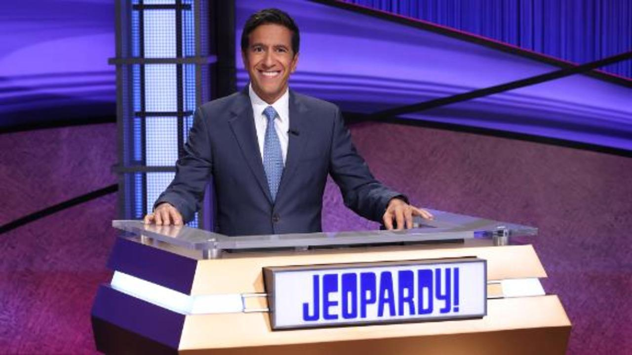 Watch CNN's Sanjay Gupta host 'Jeopardy!'