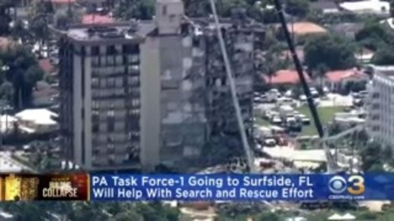Philadelphia Firefighters Heading To Florida To Help Search Following Condo Collapse