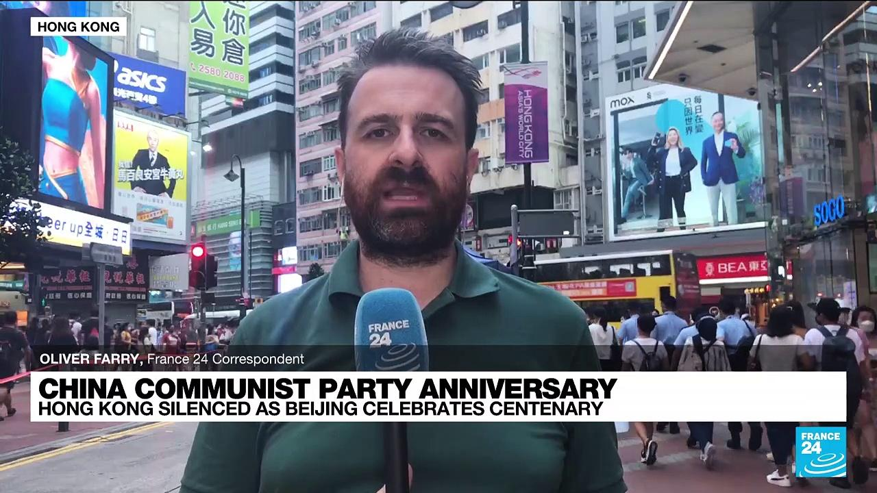 China Communist Party anniversary: Hong Kong silenced as Beijing celebrates centenary
