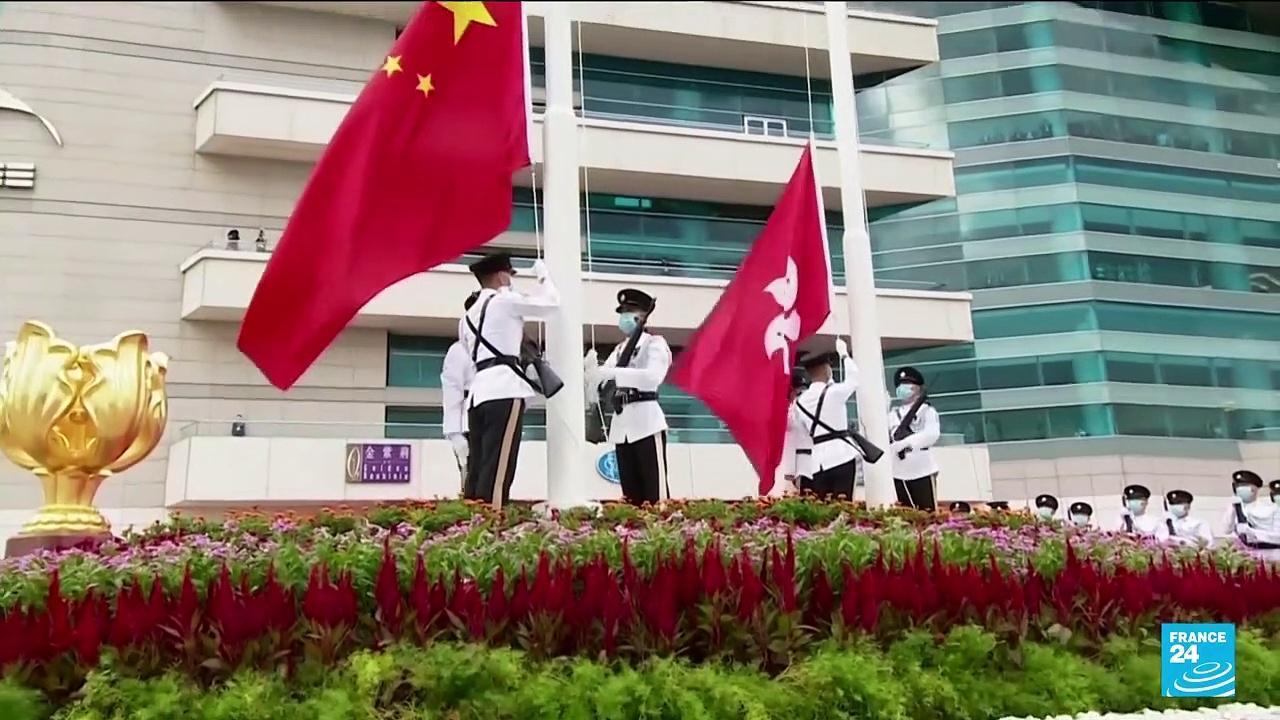 Hong Kong silenced as China celebrates party centenary