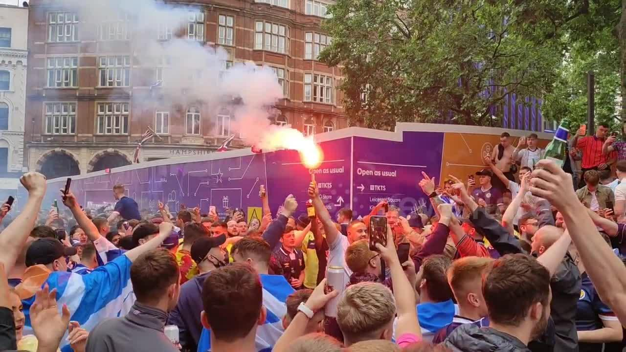 Mass events questioned after 1,300 travelling Scotland fans get COVID