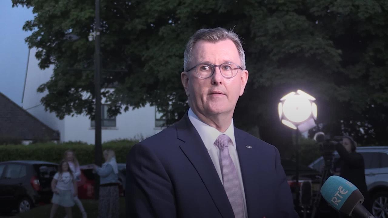 DUP's Sir Jeffrey Donaldson calls for Government to 'put right' Northern Ireland protocol