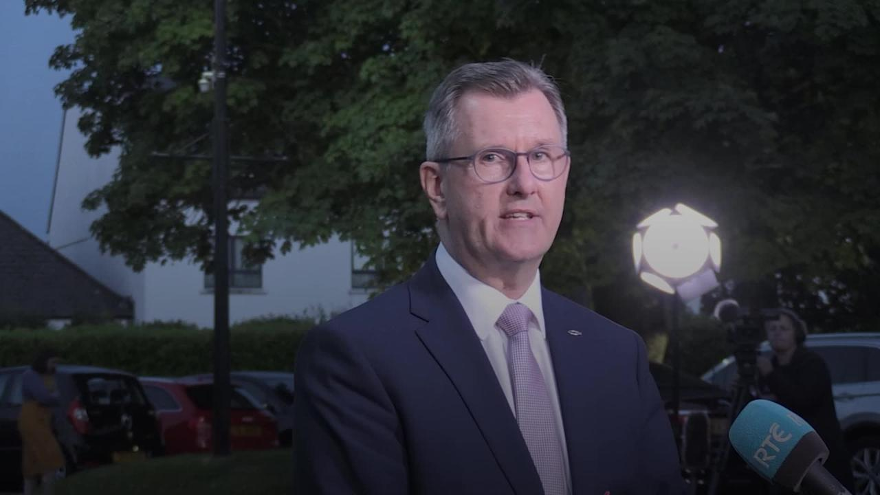 New DUP leader Sir Jeffrey Donaldson vows to heal party after period of turmoil