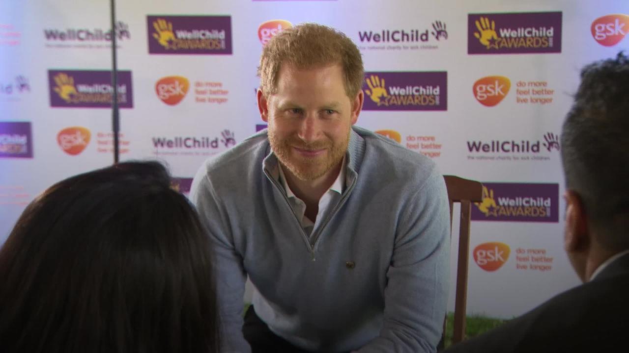 Harry hosts WellChild Awards