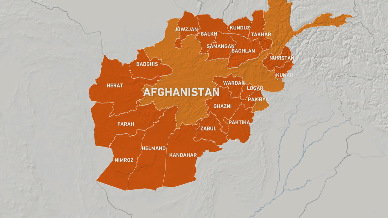 More than 100 Afghan districts are now in Taliban control