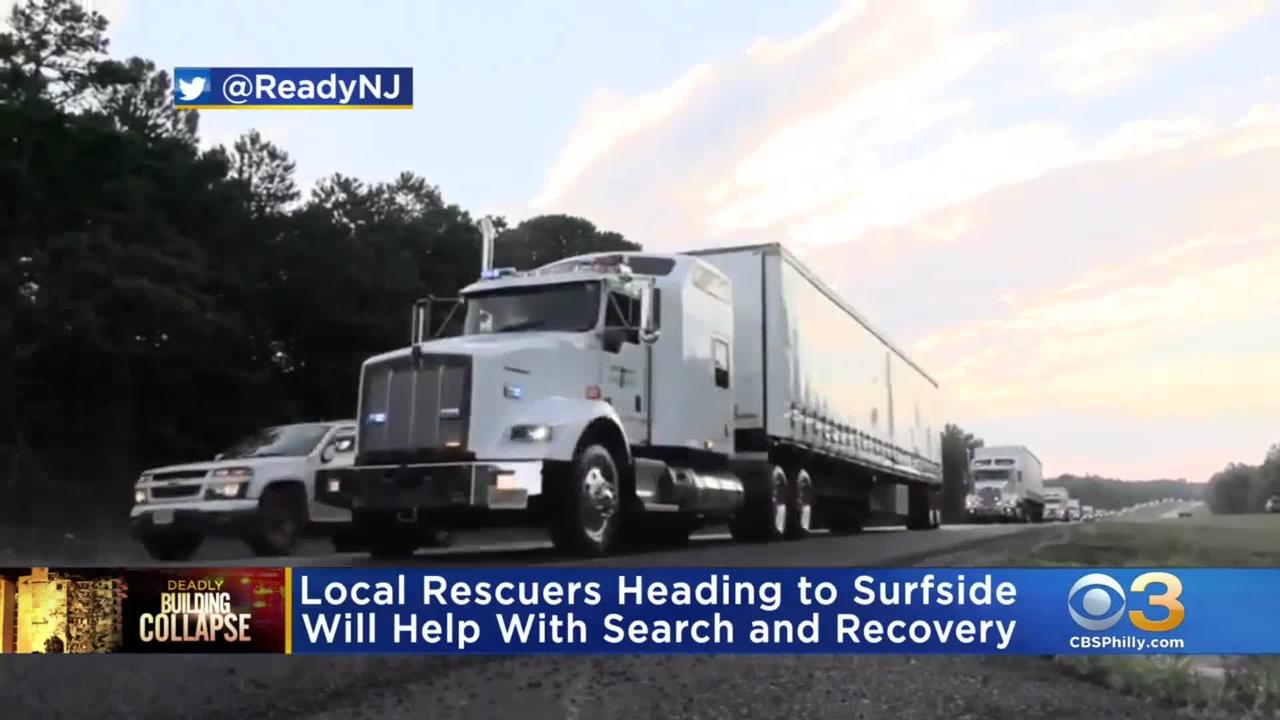Local Rescuers Heading To Florida To Help With Search And Recovery Efforts After Partial Building Collapse In Surfside