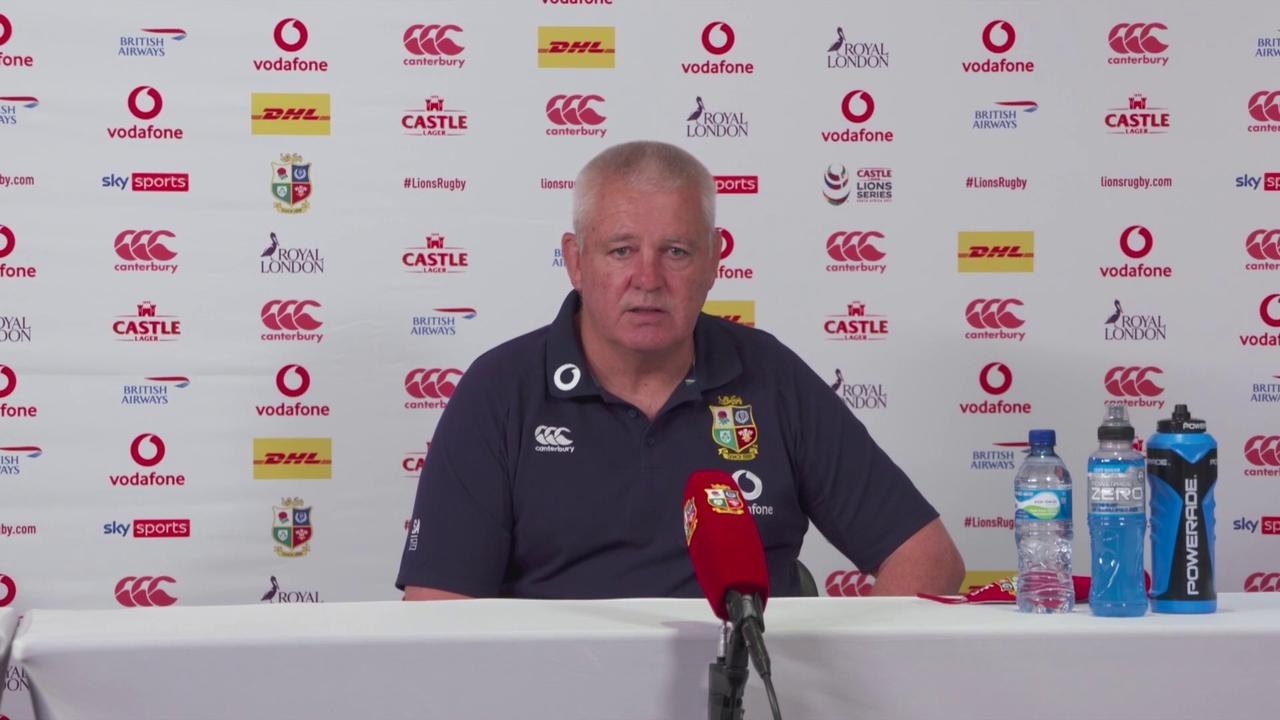 Gatland: Players used to strict Covid rules