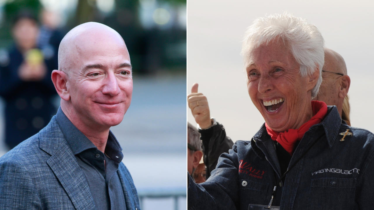 Meet the 82-year-old woman going to space with Jeff Bezos