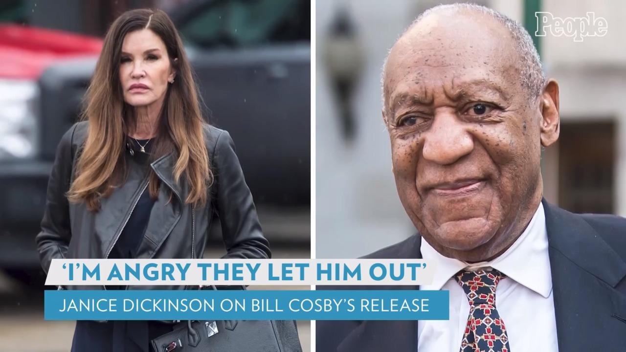 Janice Dickinson, Who Accused Bill Cosby of Rape, Calls His Prison Release 'Not Fair': 'I'm Angry'