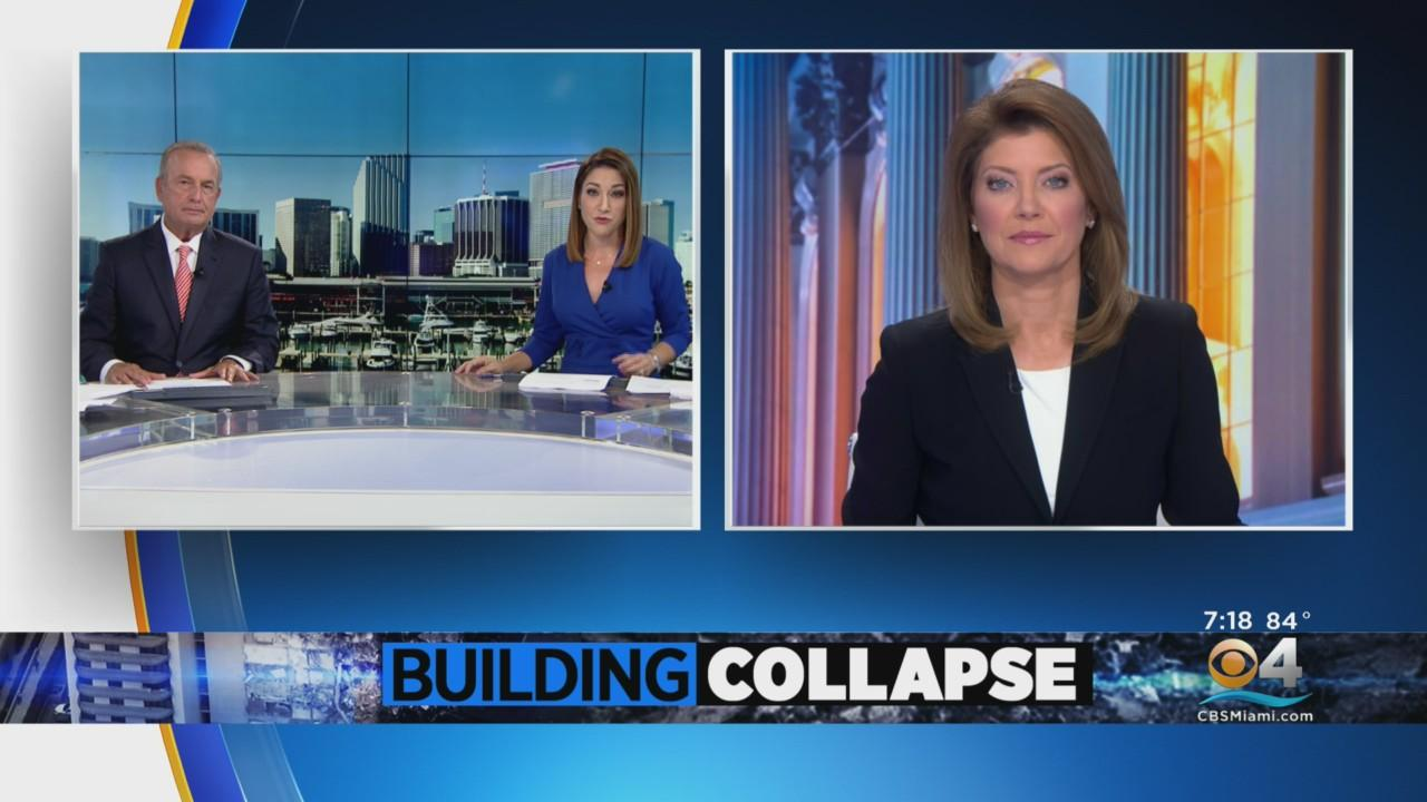 CBS Evening News Anchor Norah O'Donnell Previews 'Surfside Collapse: A Search for Answers'