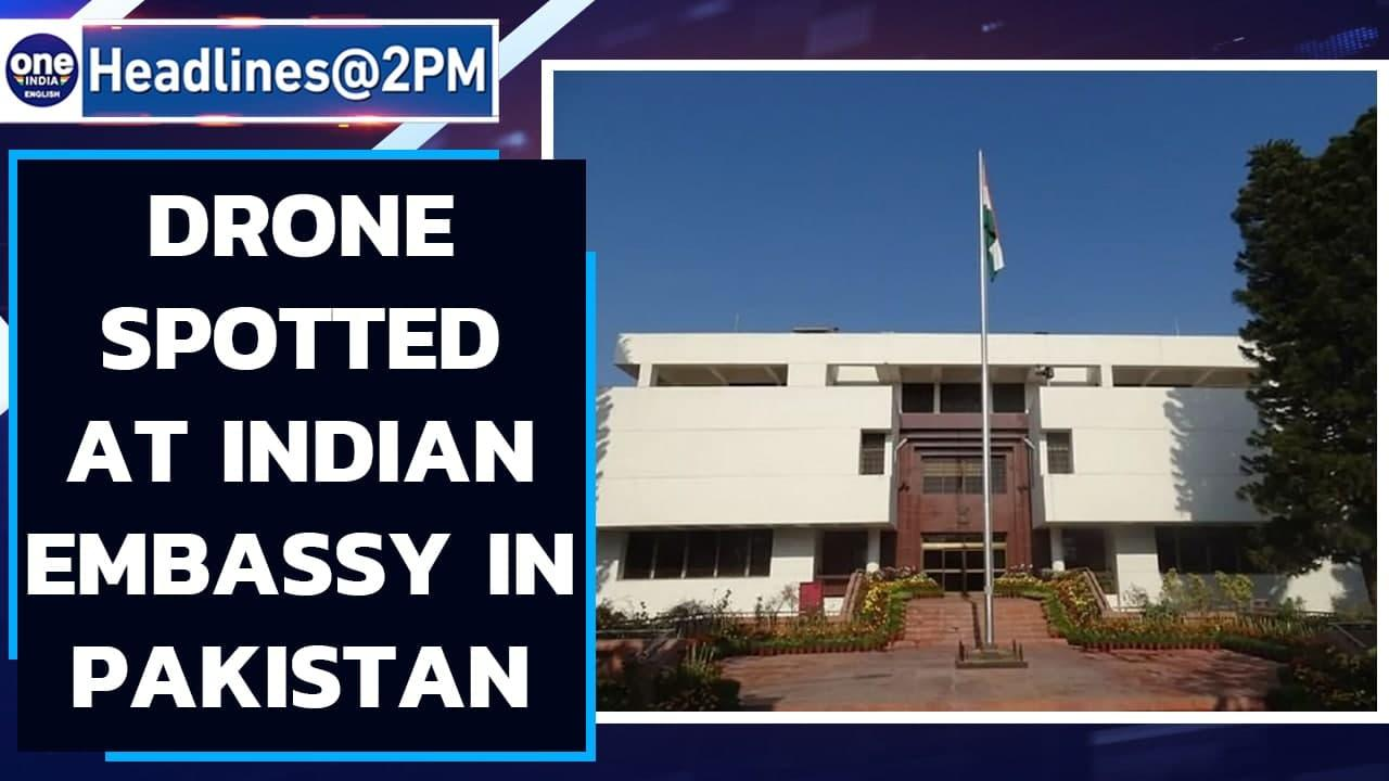 Drone enters Indian High Commission in Islamabad, India lodges strong protest   Oneindia News