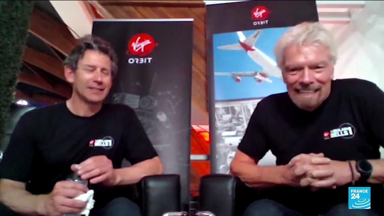 Billionaire Richard Branson plans space trip ahead of rival Bezos