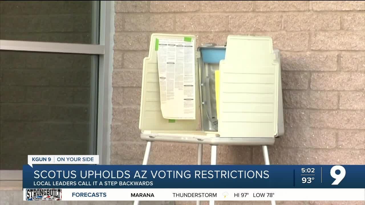 Local leaders respond to SCOTUS voter restriction decision