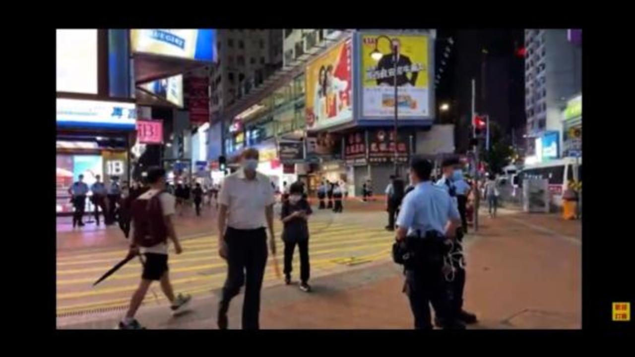 Hong Kong policeman stabbed in 'lone wolf' attack, says security chief