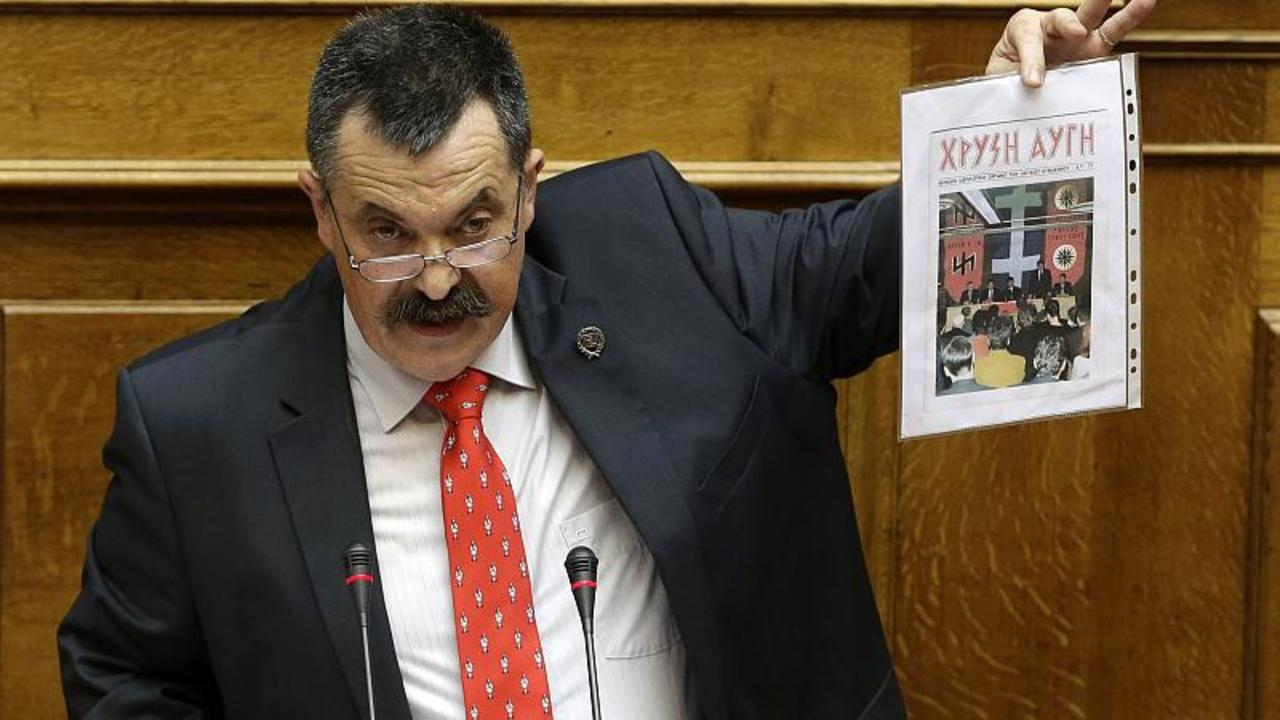 Greece: Far-right Golden Dawn's number two figure Christos Pappas due in court after arrest