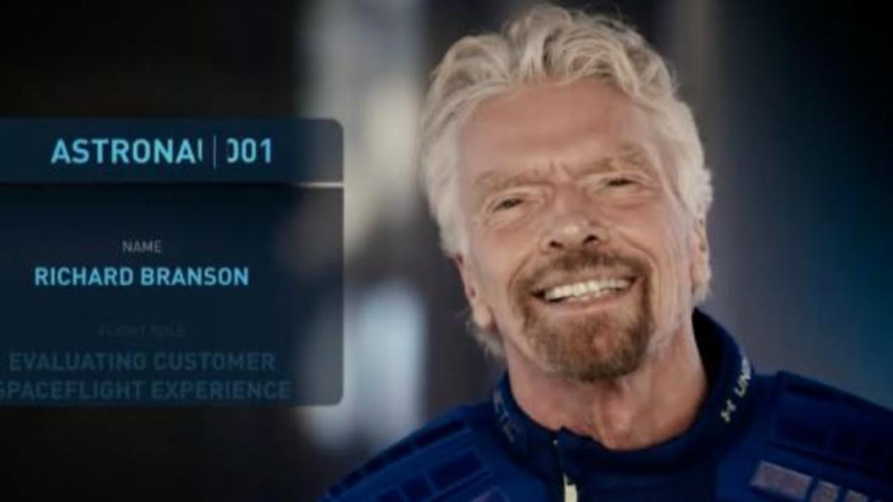 See Richard Branson's announcement that he's going to space