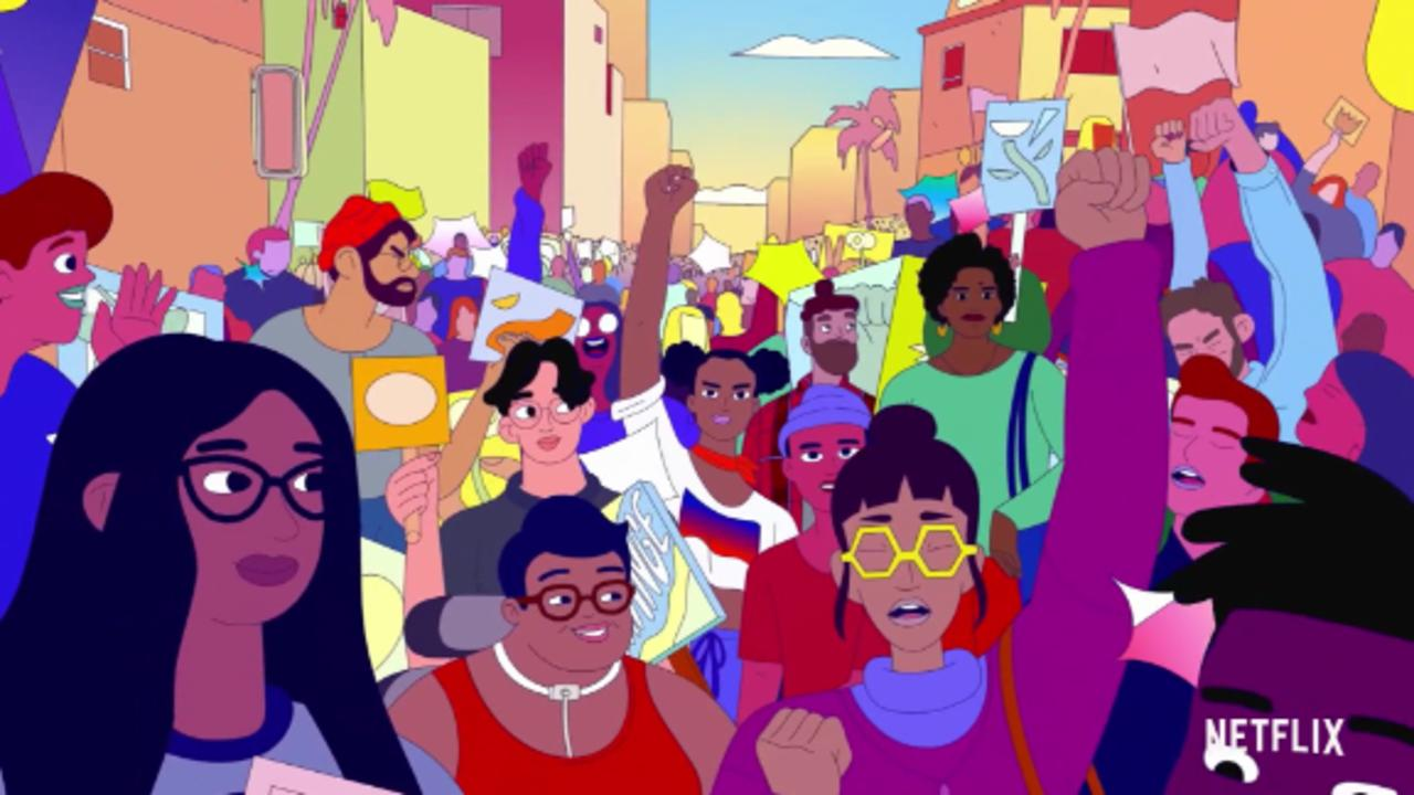 The Obamas' 'We the People' animated shorts
