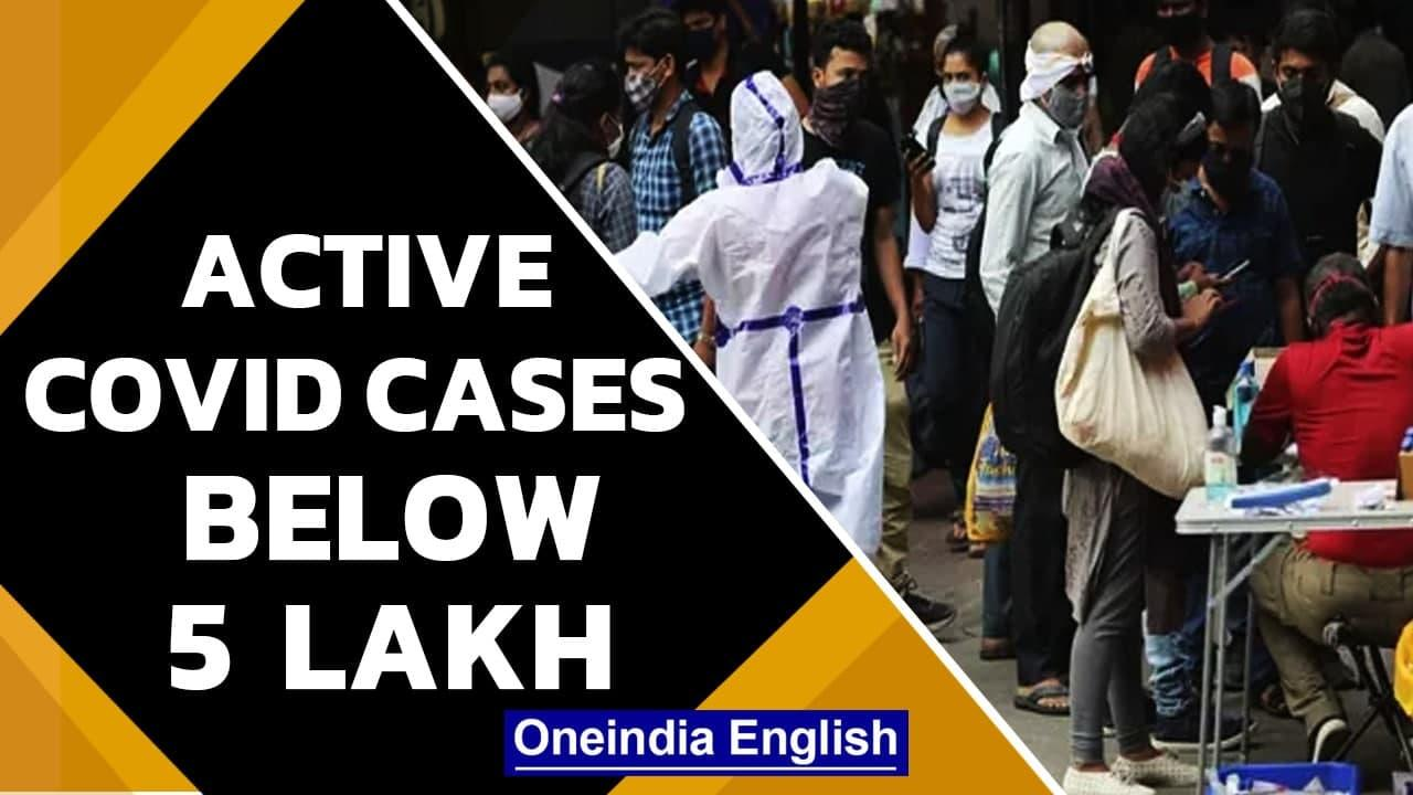 Covid-19: India reports 44,111 new cases and 738 deaths in the last 24 hours   Oneindia News