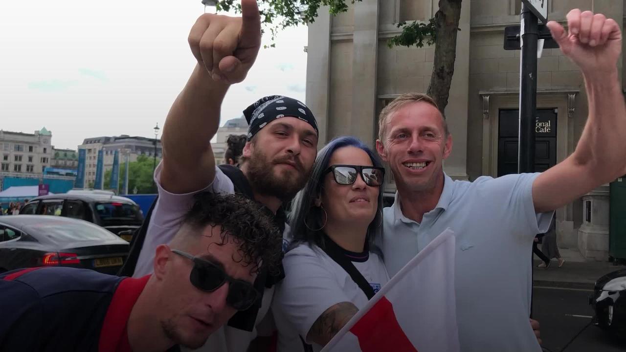 Trust in Southgate: Football fans await England v Ukraine